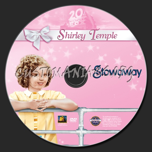 Stowaway dvd label
