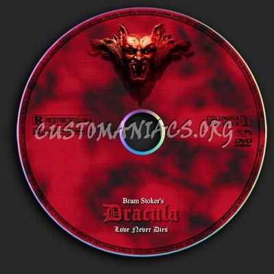 Bram Stoker's Dracula dvd label