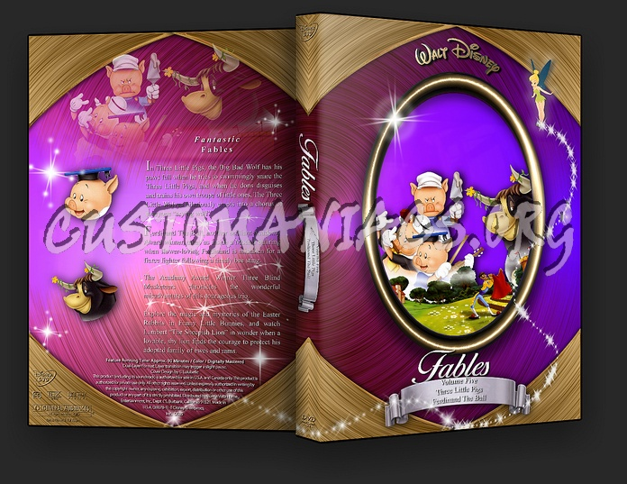 Fables Volume 5 dvd cover