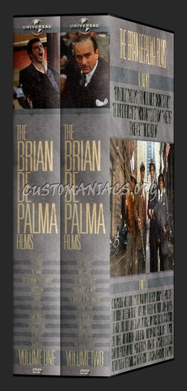 The Brian De Palma Films dvd cover