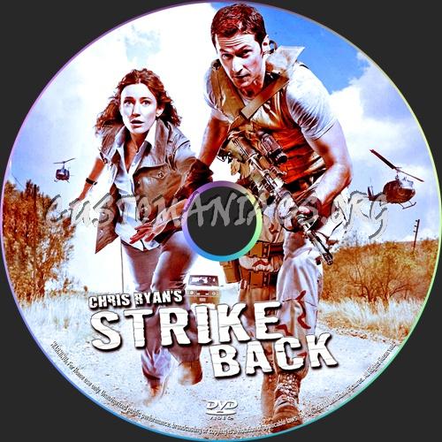 Strike Back aka Chris Ryan's Strike Back dvd label