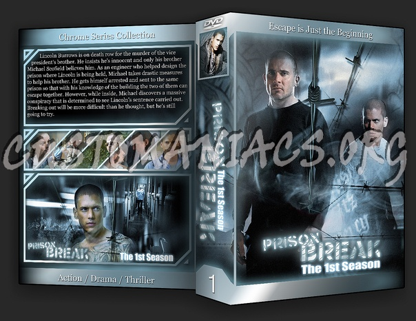 Prison Break Season 1-2 dvd cover