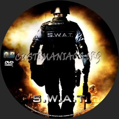 Swat dvd label