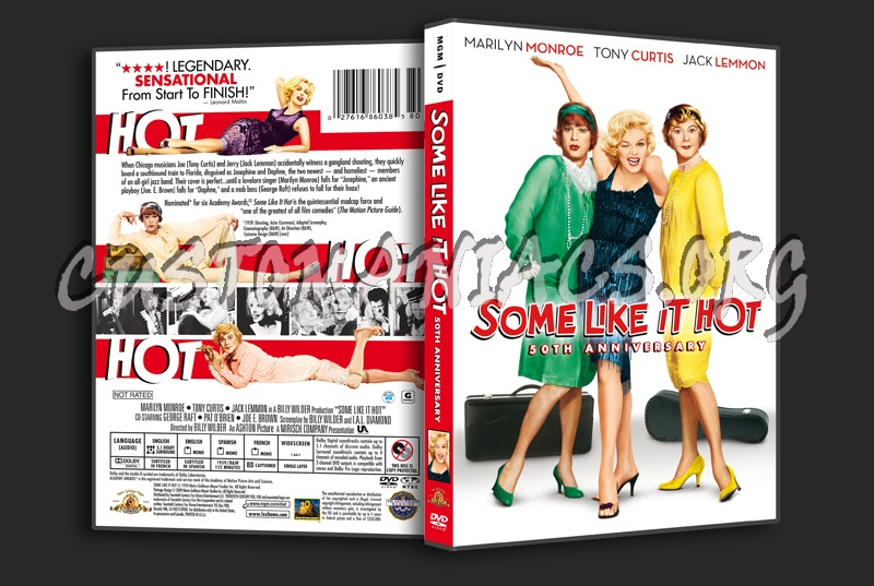 Some Like It Hot dvd cover
