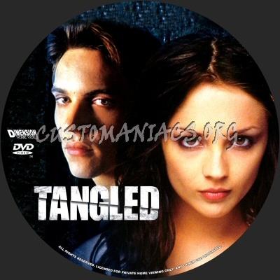 Tangled dvd label
