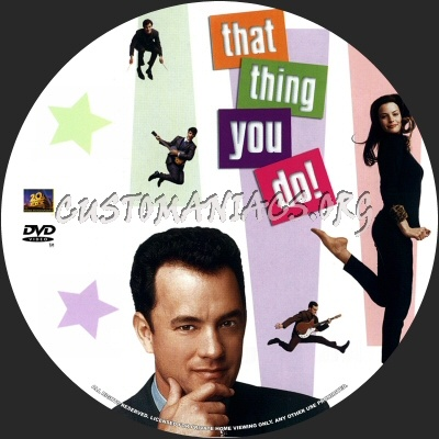 That Thing You Do dvd label