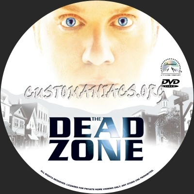 The Dead Zone dvd label