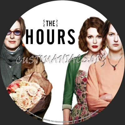 The Hours dvd label