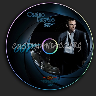 Casino Royale dvd label