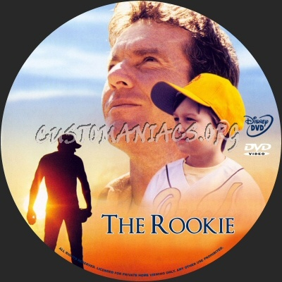 The Rookie dvd label