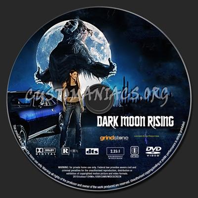Dark Moon Rising dvd label