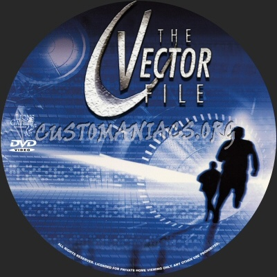 The Vector File dvd label