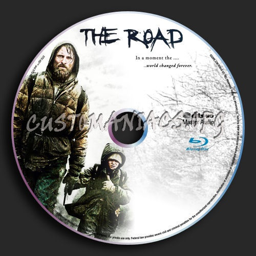 The Road blu-ray label