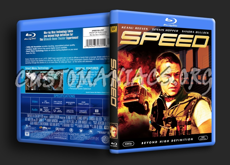 Speed blu-ray cover