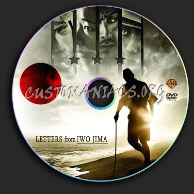 Letters From Iwo Jima dvd label
