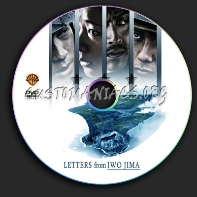 Letters from Iwo Jima dvd label