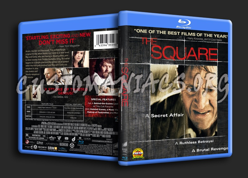 The Square blu-ray cover