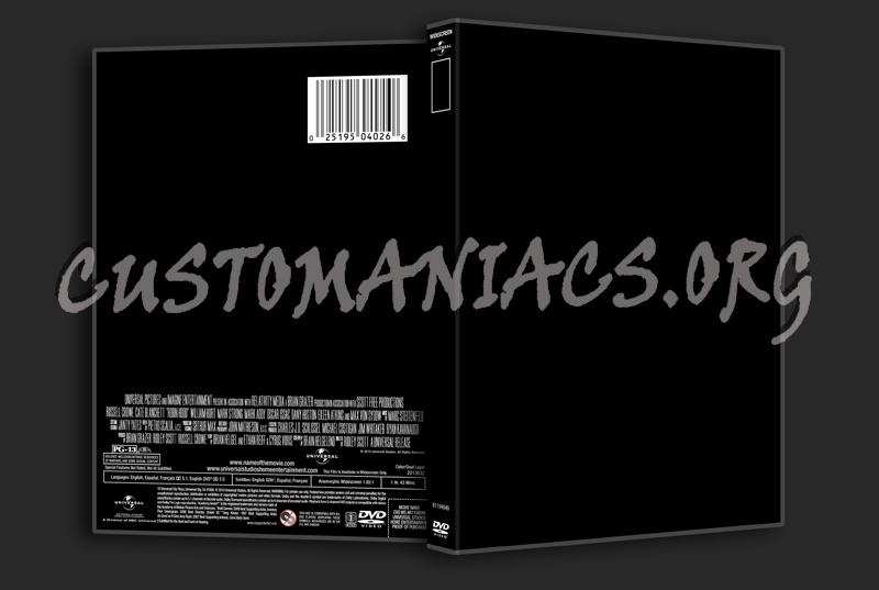 Universal 2010 Template dvd label