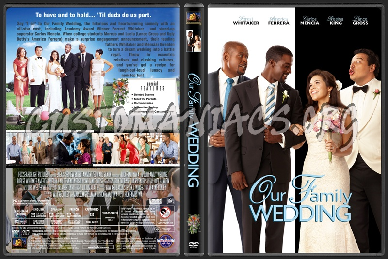 our family wedding america ferrera wedding dress. Our Family Wedding dvd cover