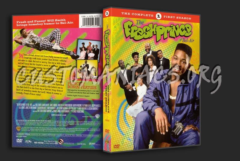 Fresh Prince of Bel-Air Seasons 1-5 dvd cover