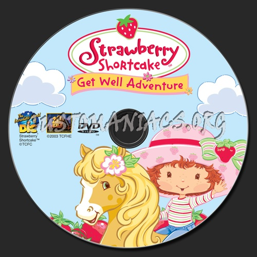 meet strawberry shortcake get well adventure