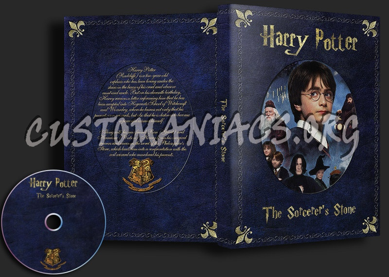 Harry Potter The Scorcerers Stone dvd cover