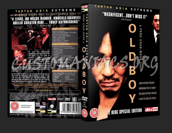 Oldboy dvd cover