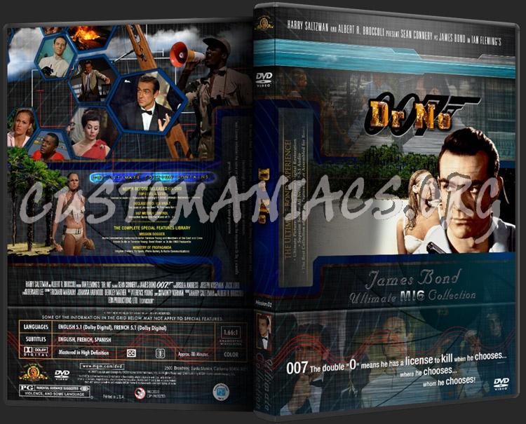 James Bond - Dr No dvd cover
