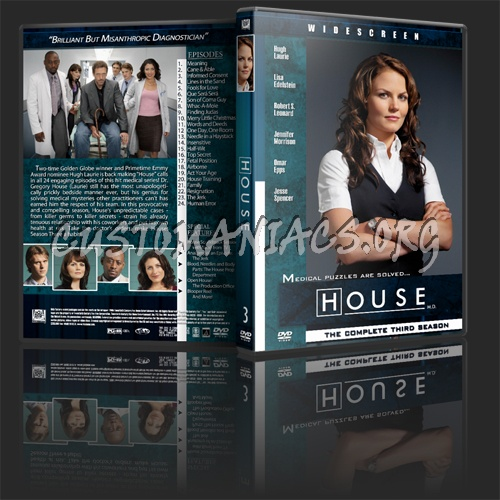 House 2-5 dvd cover