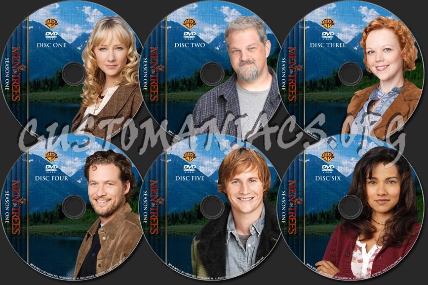 Men In Trees - Season 1 - TV Collection dvd label