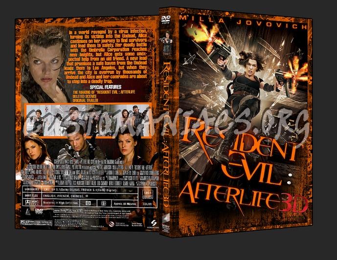 Resident Evil : Afterlife dvd cover