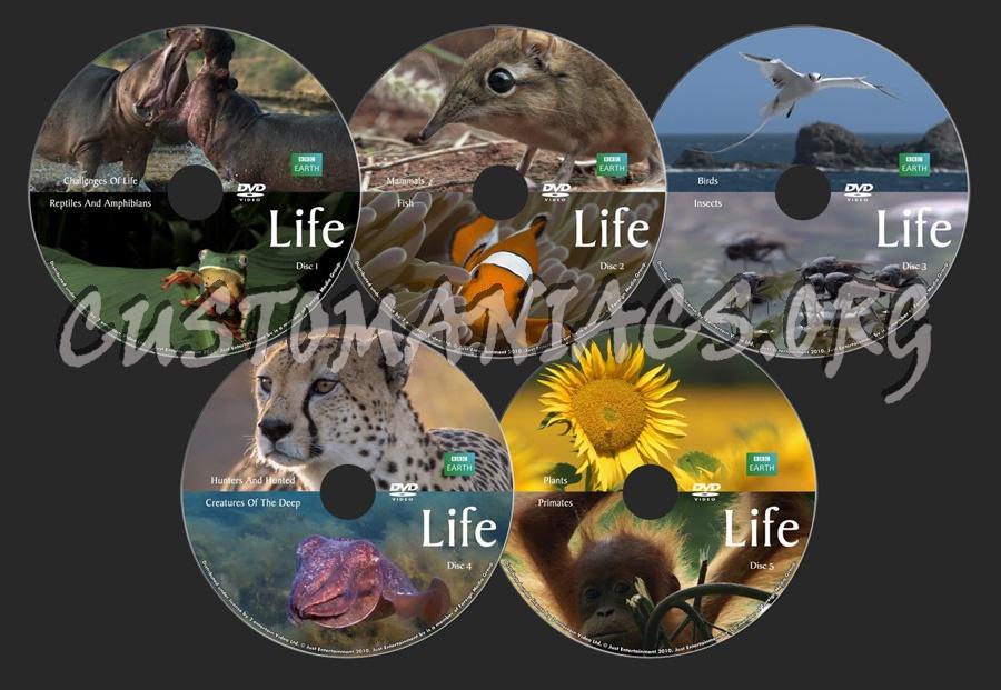 Life (BBC) dvd label