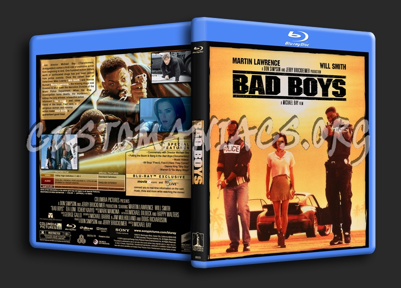 Bad Boys blu-ray cover