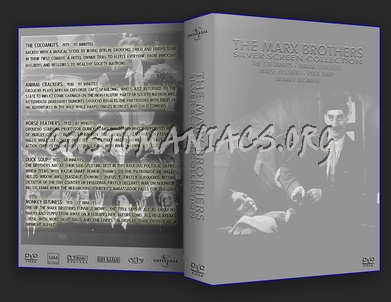 Marx Brothers silver screen collection dvd cover