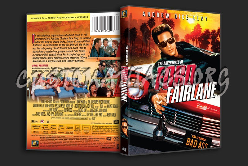The Adventures Of Ford Fairlane Dvd Cover Dvd Covers