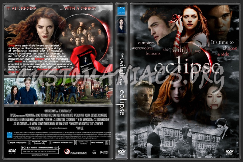 The Twilight Saga - Eclipse dvd cover