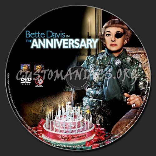 The Anniversary dvd label