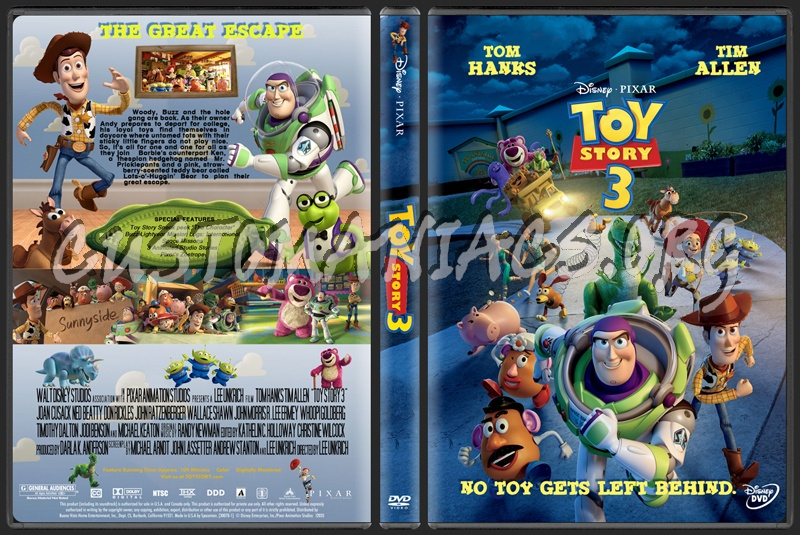 Toy Story 3 Dvd Cover Dvd Covers Labels By Customaniacs Id