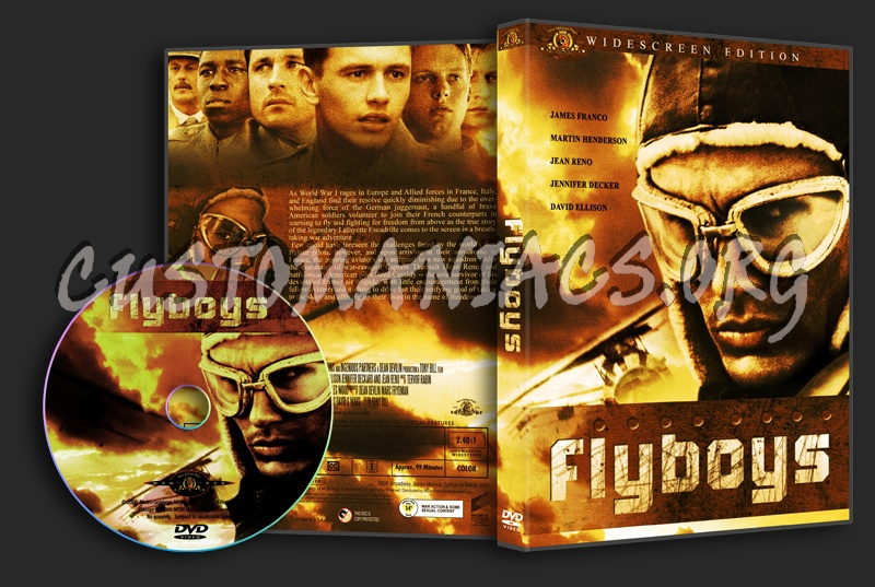 Flyboys dvd cover