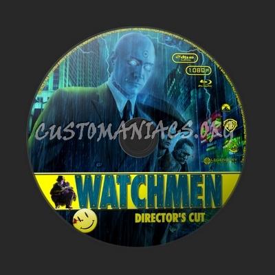 Watchmen blu-ray label