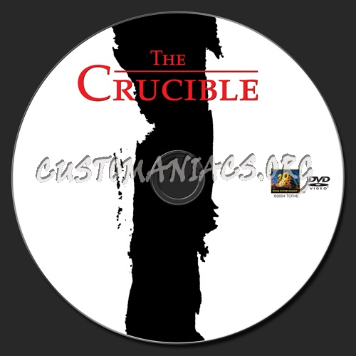 The Crucible dvd label