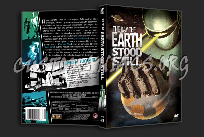 The Day The Earth Stood Still (1951) Dvd Cover