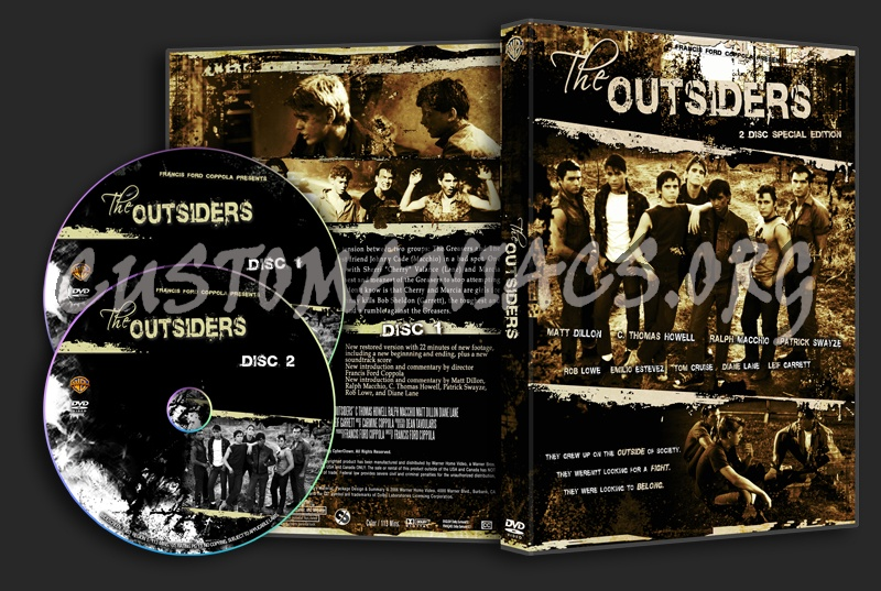 The Outsiders dvd cover
