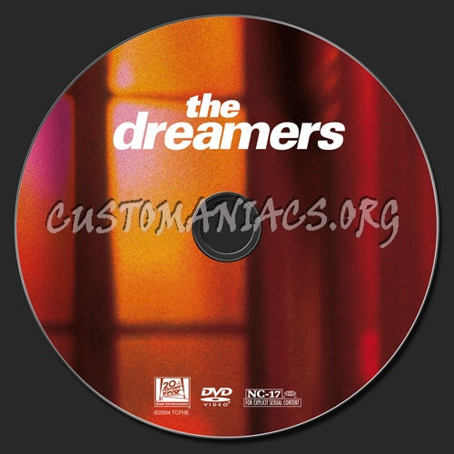 The Dreamers dvd label