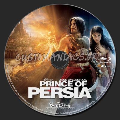 Prince of Persia blu-ray label
