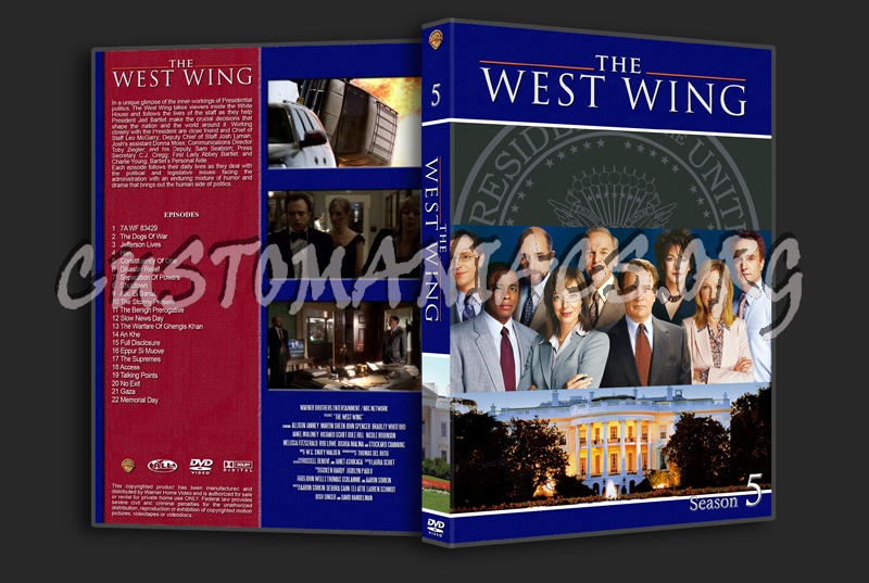 dvd covers labels by customaniacs view single post west wing the. Black Bedroom Furniture Sets. Home Design Ideas