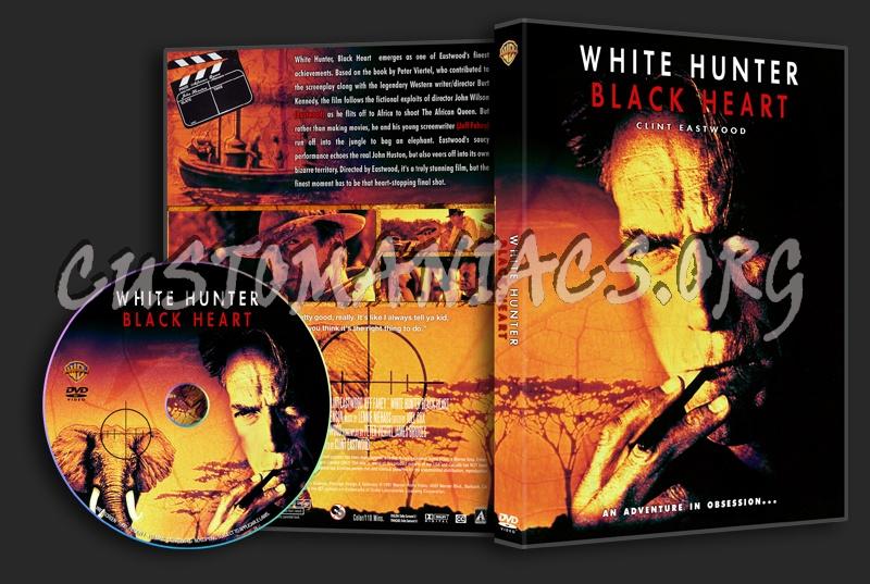 White Hunter, Black Heart dvd cover