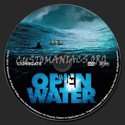 Open Water dvd label