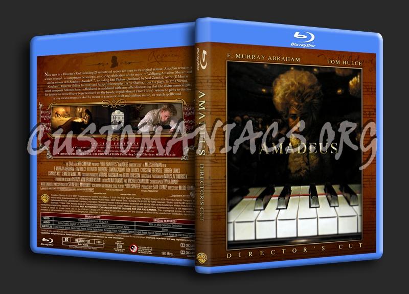Amadeus (Director's Cut) blu-ray cover