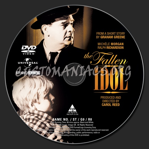 The Fallen Idol dvd label